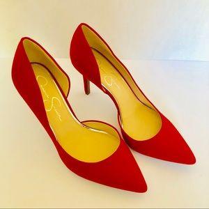 "!♥️New Jessica Simpson 3"" True Red heels 👠"